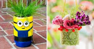 Vase Made From Plastic Bottle 10 Creative Ways To Make Beautiful Flowerpots From Ordinary