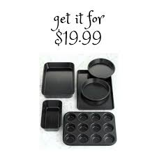 calphalon black friday deals 6 piece calphalon simply bakeware set 19 99 southern savers