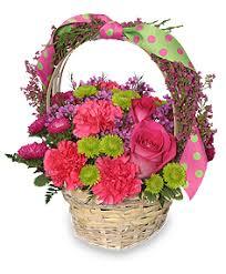 basket arrangements fever basket arrangement in hobbs nm s flowers