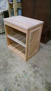 wooden pallet bedside table with new ideas photo diy pallet