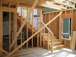 garage stair plans with landing pre made outdoor wood steps wood