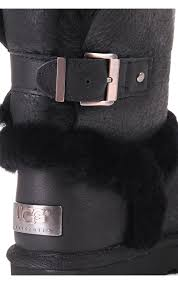 womens ugg boots with buckle ugg womens ugg australia womens airehart boot black ugg womens