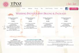 wedding photographers prices wedding photography prices wedding photography package