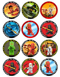 ninjago cake topper ninjago free printable toppers labels images and invitations
