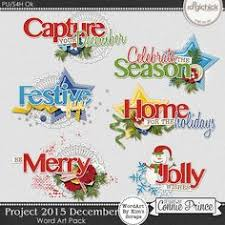 2016 june word art pack embellishment ideas for crafting
