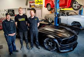 hamilton built electric mustang might be the world u0027s craziest