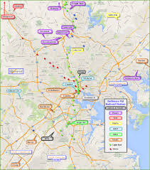 Amtrak Stations Map by Baltimore Railroad Stations And Depots