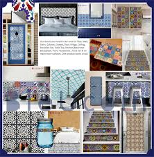 Kitchen Backsplash Decals by Encaustic Moroccan Kitchen Bathroom Stairs Floor Wall Tile