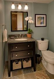 you can make even a powder room more spa like with small touches