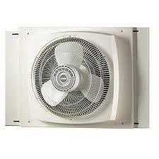 electrically reversible twin window fan lasko electrically reversible window fan 16in 2155a walmart com