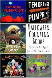 halloween counting books u0026 activities for preschoolers