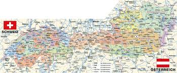Austria Map Large Detailed Administrative Map Of Austria With All Roads