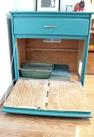 Decorative Cat Box Litter Box Cabinet Gorm Litter Box Enclosure Hack Ikea Hackers