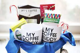 coffee gift basket ideas his hers coffee gift basket a beautiful mess