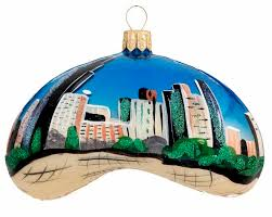 chicago bean daytime personalized ornament