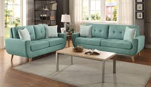 Living Room Furniture Collection Deryn Teal Living Room Furniture Collection For 269 94 Furnitureusa