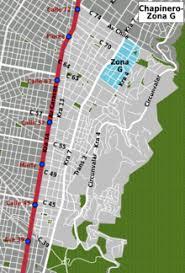 g map bogotá chapinero zona g travel guide at wikivoyage