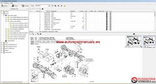 free auto repair manual schaeff terex parts catalogue full