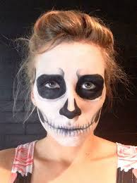 how to do skeleton makeup for
