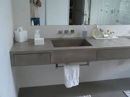 gfrc wall panels countertop concrete bathroom makeover sink loversiq