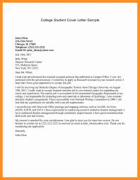 Cover Letter For Writing Sample Cover Letter To College Image Collections Cover Letter Ideas