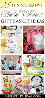 bridal shower basket ideas 60 best creative bridal shower gift ideas