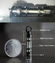 cara membuat gantungan kunci dari vial jual hiasan accessories titanium tritium vial warna orange utk