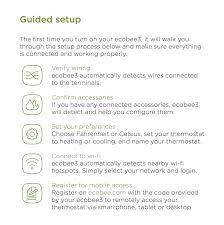ecobee3 black friday feature friday easy to set up and use smart wifi thermostats by