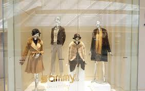 boutique clothing fashion boutique clothing shop window dress store editorial