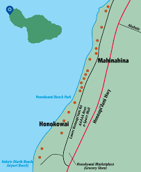 Papakea Resort Map Honokowai Area Hawaii Revealed