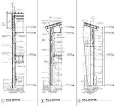 drafting sample wall sections u2013 pemb rlj of south florida u2013 bim