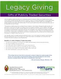 Mutual Fund Accountant Legacy Giving Publicly Traded Securities Jpg