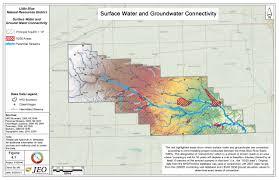 Map Of Missouri River Hydrogeologic Study