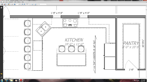 large kitchen plans walk pantry facing kitchen which don building plans 66060