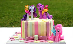 my pony cake ideas my pony birthday cake kidspot