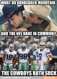 Broncos Suck Meme - cowboys suck geaux saints pinterest cowboys football memes