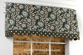 Valances Com Sadie Curtain Valance Sewing Pattern By Pate Meadows Designs A
