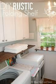 Wall Mounted Folding Shelf Laundry Room Laundry Folding Shelf Images Design Ideas Laundry