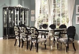 Black And White Dining Room Sets Best Dining Room Set Interior Design