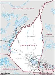 Quebec Canada Map Elections Canada Online Map Of The Electoral District Of Lac