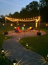 outdoor string lights deck progress and dreaming of outdoor string lights the happy housie