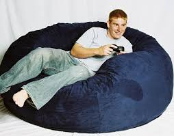 incredible huge bean bag chair giant bean bag living room