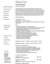 Hotel Housekeeping Resume Sample by Cleaning Job Resume Template Cv For Cleaning Job Sample Dentist