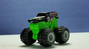 grave digger 30th anniversary monster truck toy monster jam grave digger mystery trucks by wheels youtube