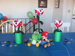 hanging by a silver lining a mario bros birthday