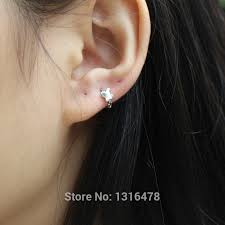 cheap ear bones of small butterfly ring 925 sterling silver