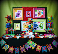 Halloween Tween Party Ideas by Kara U0027s Party Ideas Colorful Monster Bash Party Kara U0027s Party Ideas