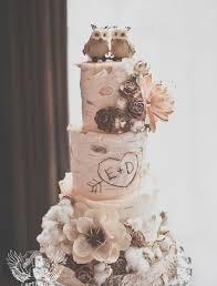 unique wedding cakes of unique woodland wedding cakes to get inspired 3