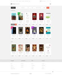 html5 templates for books real books opencart template 47983