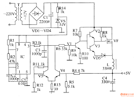 component dc to power supply circuit how design a switch d c
